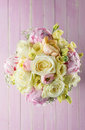Pink And Ivory Wedding Bouquet...