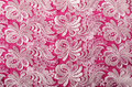 Pink and lace background Royalty Free Stock Photo