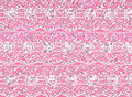 Pink lace border background Royalty Free Stock Photo