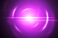 Pink lensflare Royalty Free Stock Photo