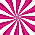 Pink Lollypop Candy Background with Swirling, Rotating, Twirling Stripes. Vector Royalty Free Stock Photo