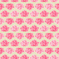 Pink Lotus Flower Seamless Pattern Royalty Free Stock Photo