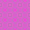 Pink magenta rhombus wallpaper seamless pattern texture Royalty Free Stock Photo