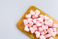 Pink Marsh Mallow Royalty Free Stock Photo