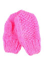 Pink mittens Royalty Free Stock Photography