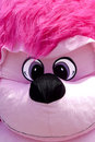 Pink monkey closeup of a big Stock Image