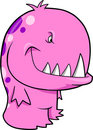 Pink Monster Vector Stock Images
