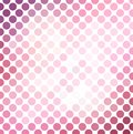 Pink mosaic background Stock Photos
