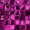 Pink mosaic glass window seamless Royalty Free Stock Photo