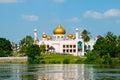 image photo : Pink Mosque in Kuching (Borneo, Malaysia)