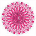 Pink ornament Royalty Free Stock Images