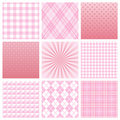 Pink pattern Stock Image