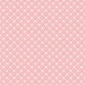 Pink Pattern Interlocking Circles with hearts Royalty Free Stock Photos