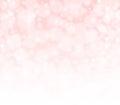 Pink Peachy And White Bokeh Ab...