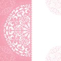 Pink petal pattern with space for text this is file of eps format Stock Photos