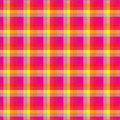 Pink plaid Royalty Free Stock Photography