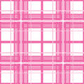 Pink plaid Stock Image