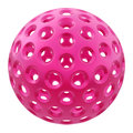 Pink plastic ball Royalty Free Stock Photos
