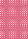 Pink polka dot background Royalty Free Stock Photography