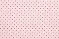 Pink Polka Dot Fabric