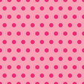 Pink Polka Dot Pattern Royalty Free Stock Photography
