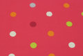 Pink polka dots background a of vibrant and colorful Stock Photography