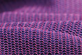 Pink and Purple Macro Fabric Texture Stock Images