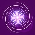 Pink purple with white swirl spiral