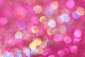 Pink, purple, white, yellow and turquoise soft lights abstract background Royalty Free Stock Photo