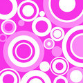 Pink retro circle Royalty Free Stock Photography
