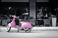 Pink scooter Royalty Free Stock Photo