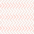 Pink scratched waves. Seamless pattern. Abstract.