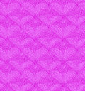 Pink seamless pattern with linear hearts. Decorative netting texture Royalty Free Stock Photo