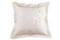 Pink silk pillow Royalty Free Stock Photo