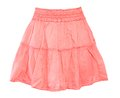 A pink skirt for girl isolated on white background Royalty Free Stock Photo
