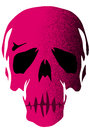 Pink skull Royalty Free Stock Photo