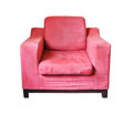 Pink sofa Stock Image