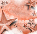Pink Star Love Background Royalty Free Stock Image