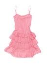 Pink sundress Royalty Free Stock Photo
