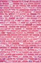 Pink texture, brick wall Royalty Free Stock Image