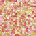 Pink Tiles Background Stock Image