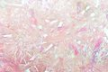 Pink tinsel Royalty Free Stock Images