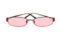Pink Tinted Glasses Royalty Free Stock Photo