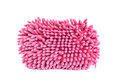 Pink towel white Royalty Free Stock Photography