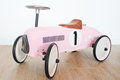 Pink Toy car for girls Royalty Free Stock Photo