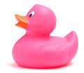 Pink Toy Duck Royalty Free Stock Photo