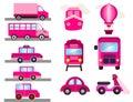 Pink transport for girls girly transport
