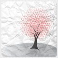 Pink tree Stock Image