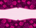 Pink valentine background,  Royalty Free Stock Image