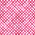 Pink and white plaid background Royalty Free Stock Photo